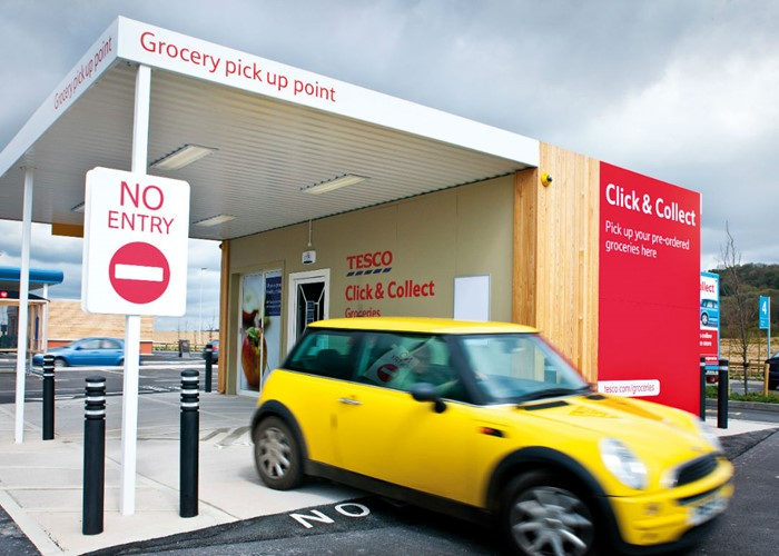 click  collect uk costs minimum order size and delivery